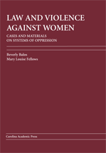 Law and Violence Against Women book jacket