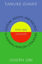 Culture, Society, and Politics in Modern African Literature book jacket