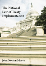 The National Law of Treaty Implementation book jacket