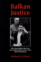 Balkan Justice book jacket