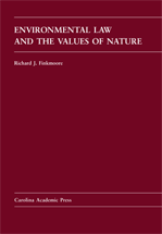 Environmental Law and the Values of Nature book jacket