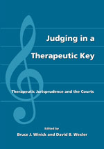 Judging in a Therapeutic Key book jacket