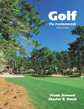 Golf: The Fundamentals book jacket