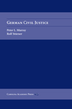 German Civil Justice book jacket