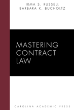 Mastering Contract Law book jacket