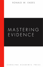 Mastering Evidence book jacket