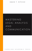 Mastering Legal Analysis and Communication book jacket