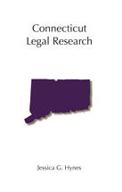 Connecticut Legal Research book jacket