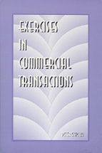 Exercises in Commercial Transactions book jacket