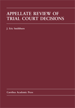 Appellate Review of Trial Court Decisions book jacket