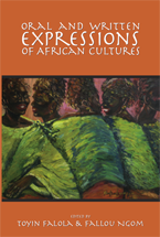 Oral and Written Expressions of African Cultures book jacket