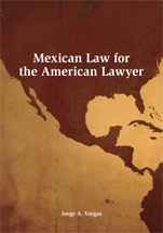 Mexican Law for the American Lawyer book jacket