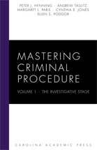 Mastering Criminal Procedure, Volume 1 book jacket