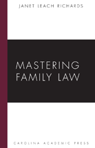Mastering Family Law book jacket