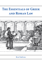 The Essentials of Greek and Roman Law book jacket