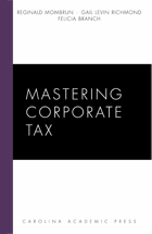 Mastering Corporate Tax book jacket
