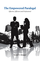 The Empowered Paralegal: Effective, Efficient and Professional book jacket