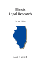 Illinois Legal Research book jacket