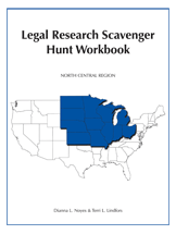Legal Research Scavenger Hunt Workbook book jacket