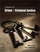 A History of Crime and Criminal Justice in America book jacket