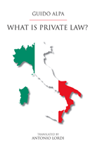What Is Private Law? book jacket