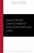 Mastering Employment Discrimination Law book jacket
