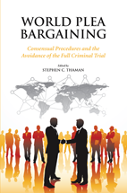 World Plea Bargaining book jacket