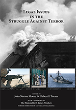 Legal Issues in the Struggle Against Terror book jacket