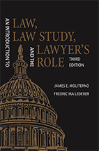 An Introduction to Law, Law Study, and the Lawyer's Role book jacket