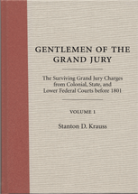 Gentlemen of the Grand Jury book jacket
