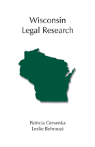 Wisconsin Legal Research book jacket