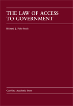 The Law of Access to Government book jacket