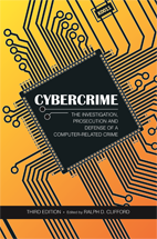 Cybercrime book jacket