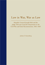 Law in War, War as Law book jacket