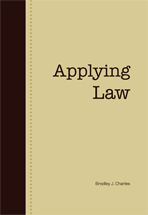 Applying Law book jacket