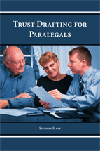 Trust Drafting for Paralegals book jacket