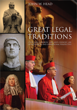 Great Legal Traditions book jacket