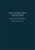 Duke Cardiology Fellows Training Program book jacket