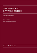 Children and Juvenile Justice book jacket