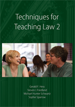 Techniques for Teaching Law 2 book jacket
