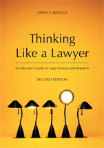 Thinking Like a Lawyer book jacket
