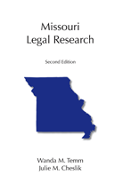 Missouri Legal Research book jacket