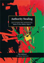Authority Stealing book jacket