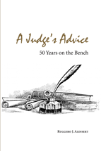 A Judge's Advice book jacket