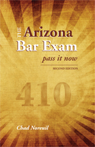 The Arizona Bar Exam book jacket