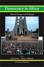 Democracy in Africa book jacket