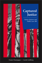 Captured Justice book jacket
