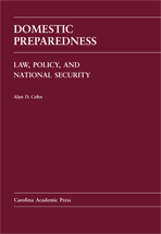 Domestic Preparedness book jacket