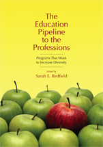 The Education Pipeline to the Professions book jacket