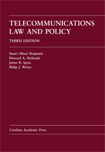 Telecommunications Law and Policy book jacket
